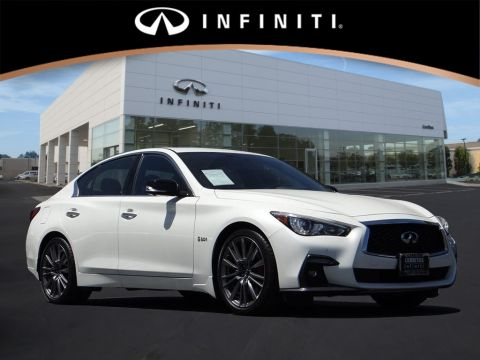 Pre-Owned 2019 INFINITI Q50 Red Sport 400